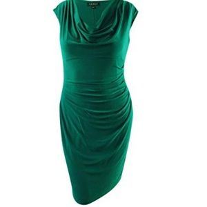 Lauren by Ralph Lauren ocean emerald dress